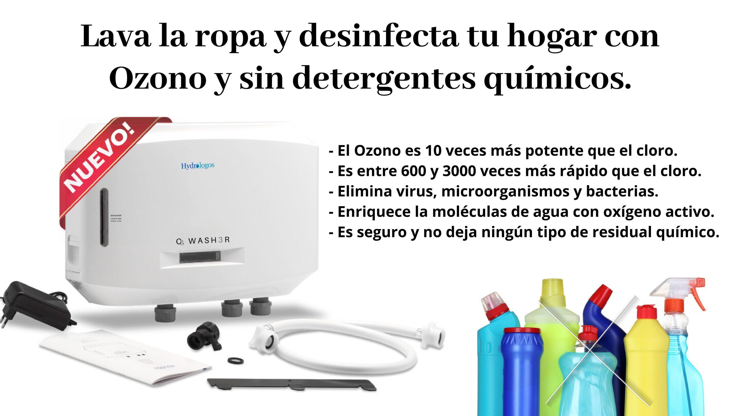 Ozono para lavadora Hydrologos Valencia