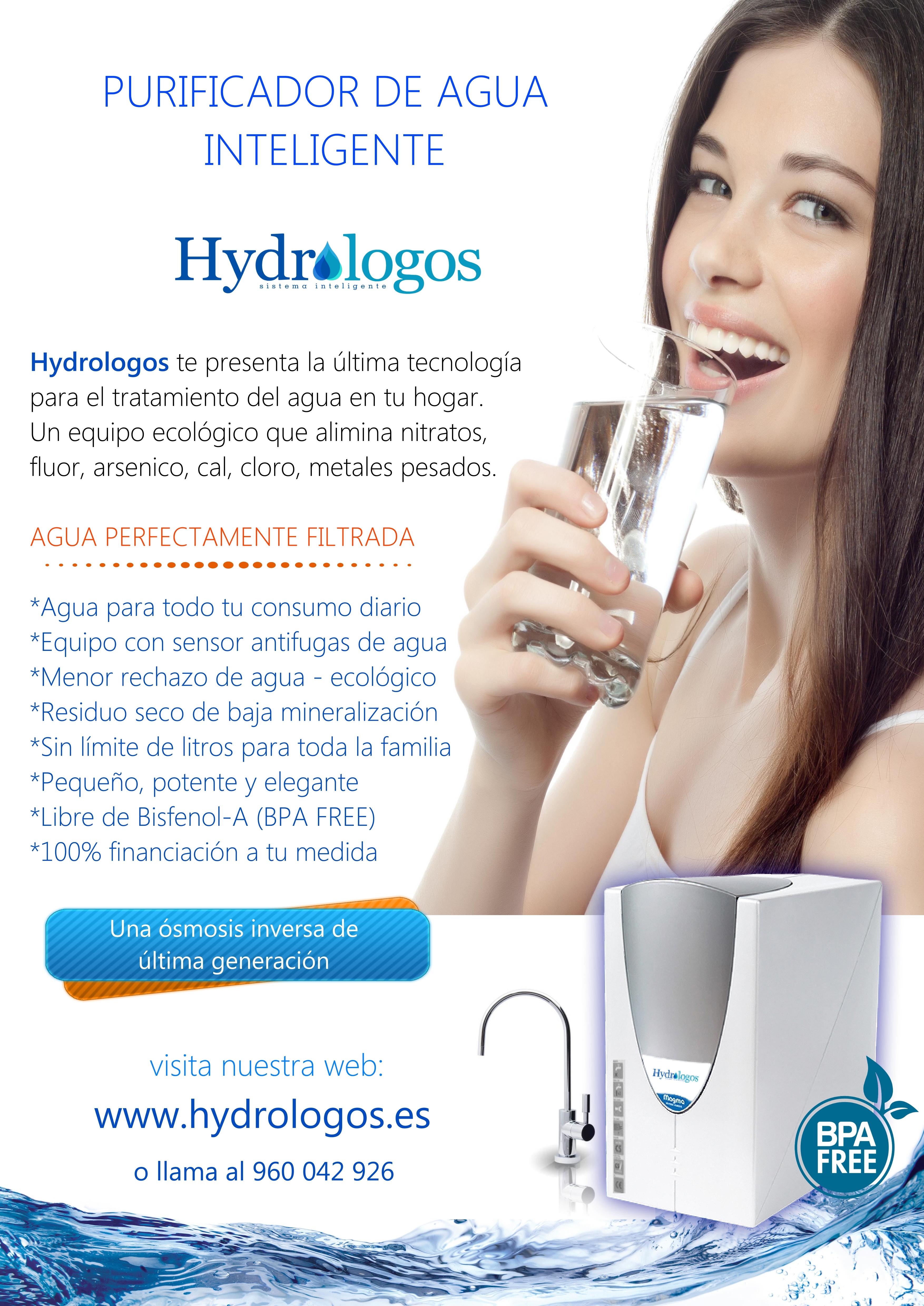 Purificador de agua Hydrologos Valencia