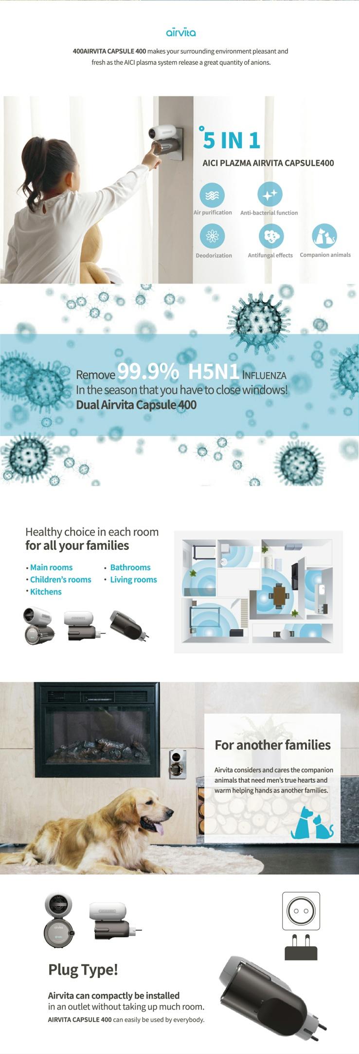ionizador y purificador de aire hydrologos
