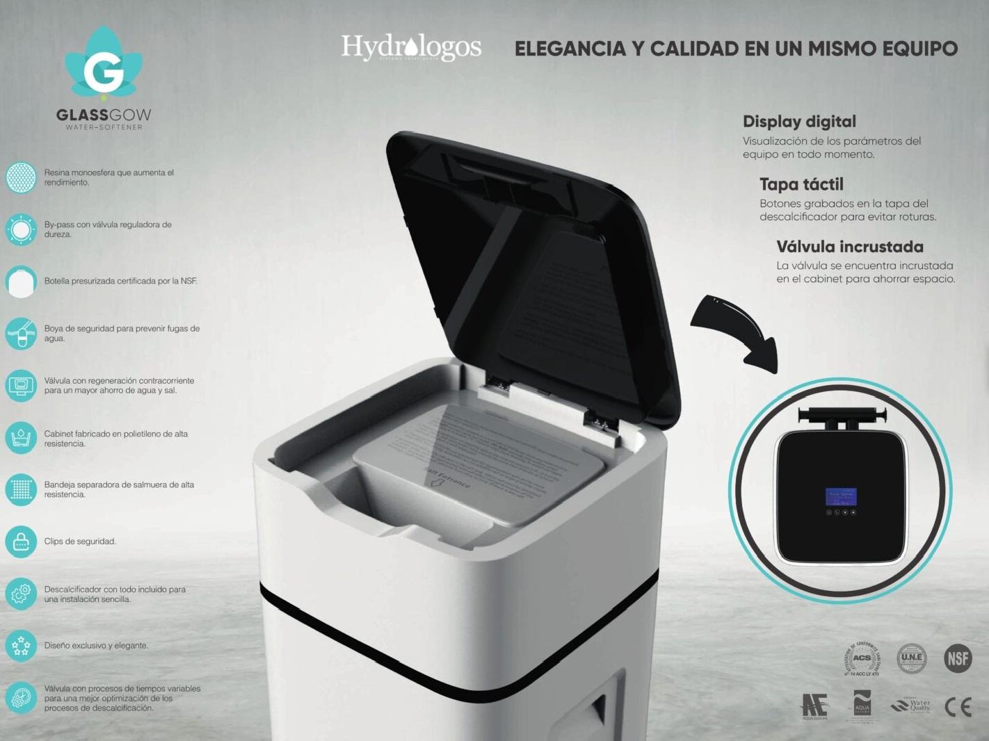 DESCALCIFICADOR DE AGUA HYDROLOGOS VALENCIA