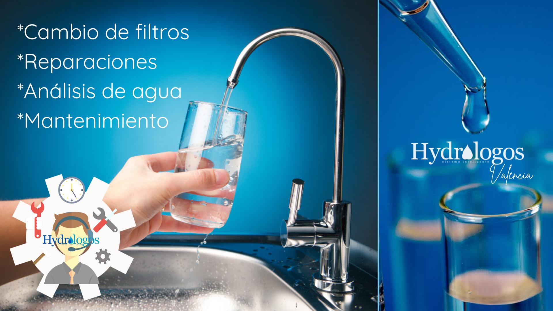 Cambio de filtros Reparación Análisis de agua Mantenimiento_Hydrologos_Valencia